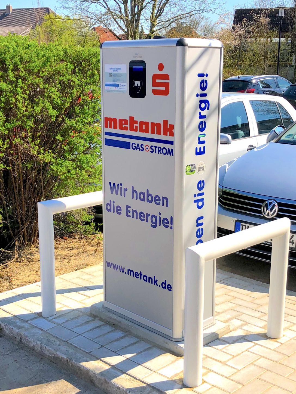 METANK nimmt weitere E-Ladesäulen in Betrieb!